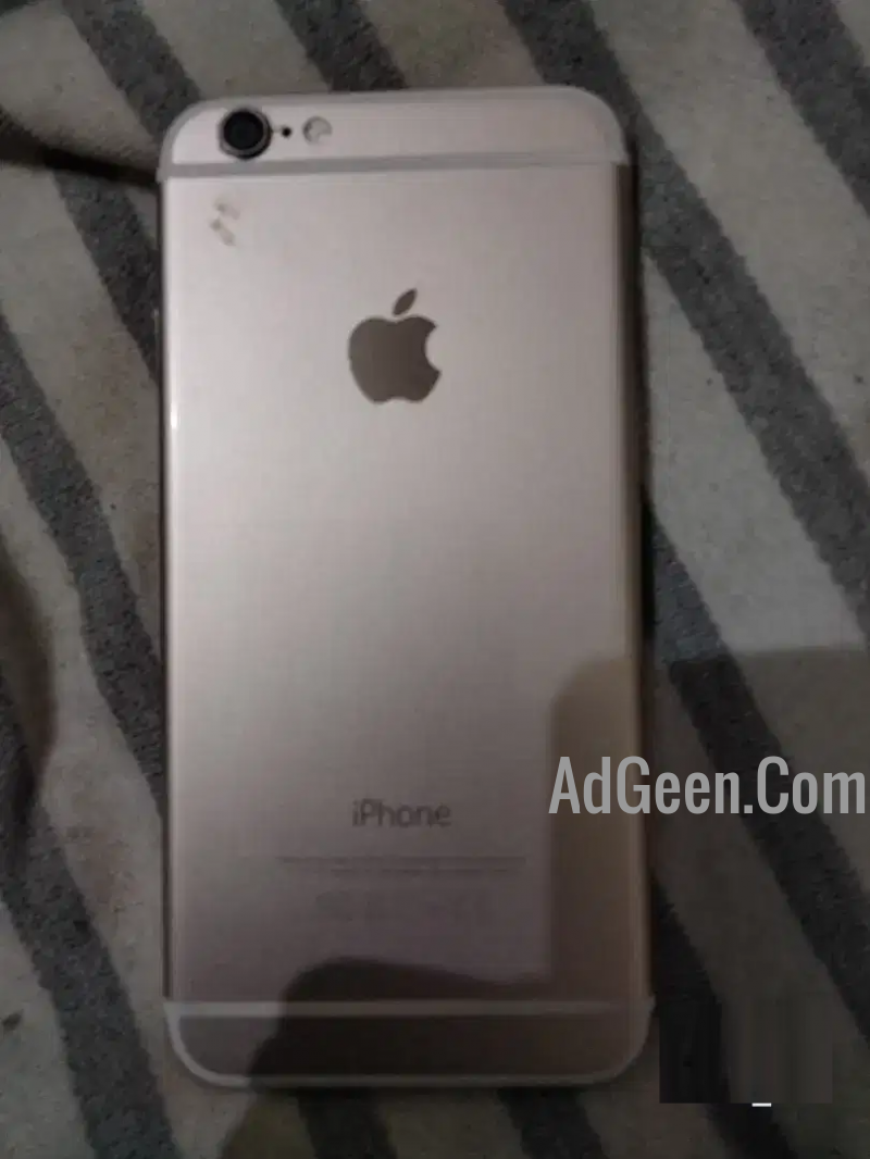 used iPhone 6 16 gb gold only with ERD CHARGER for sale