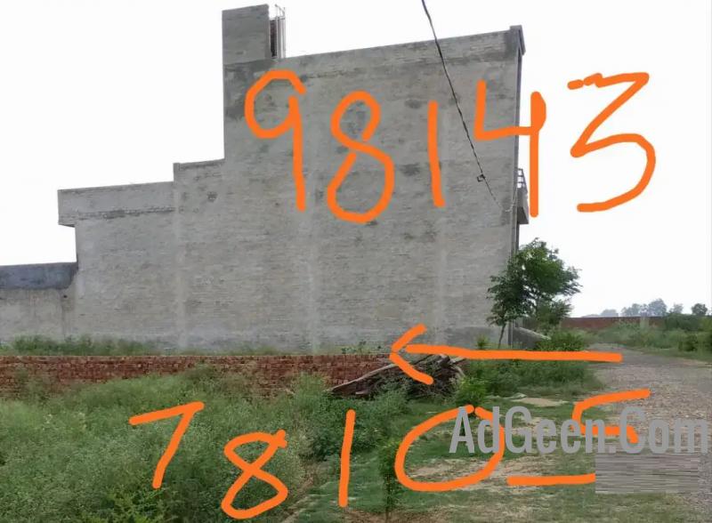 used 10 Marla plot 60*37 , Shivalik city, near Taj Hotel , Moga for sale