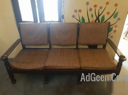 used Wooden sofa for sale