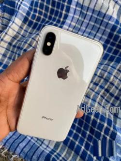 X 64 GB silver colour
