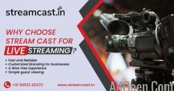 Events Live Streaming Specialists in Bangalore  - Streamcast